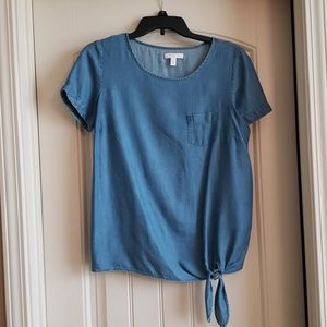 Lauren Conrad chambray shirt